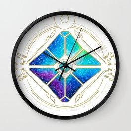 Nebula Ghost Wall Clock