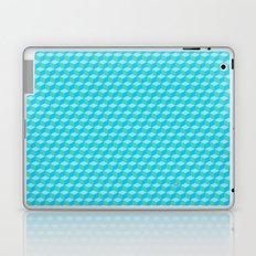 Blue Cube Tiles Laptop & iPad Skin
