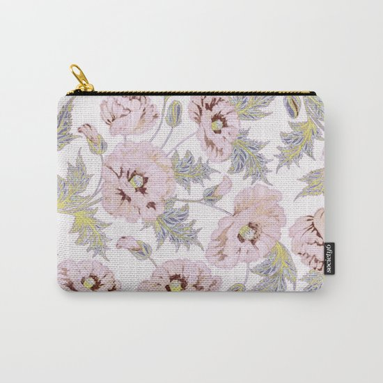soft poppies Carry-All Pouch