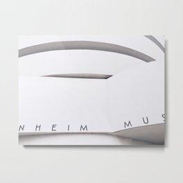 EXTERIOR Metal Print