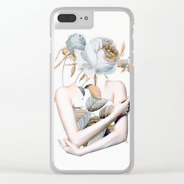 Inner beauty-collage 2 Clear iPhone Case
