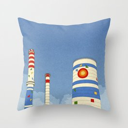 Thermo Elektrik Throw Pillow