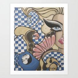 Daydream in Wonderland Art Print
