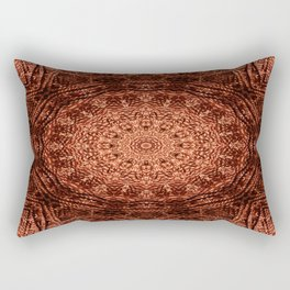knit pattern kaleidoscope V Rectangular Pillow