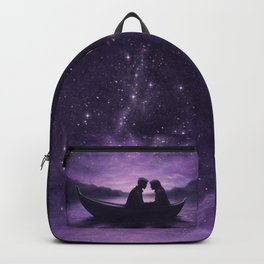 Lovers Under A Starlit Sky Backpack