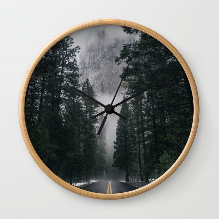 Forest Way Wall Clock