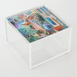 Colors of Collioure, France Acrylic Box