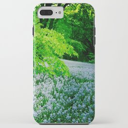 Violet Fields iPhone Case