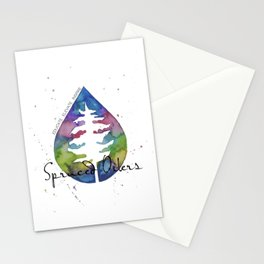 Spruced Oilers Stationery Cards