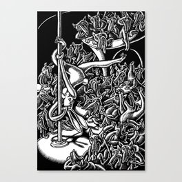 Seven Deadly Sins: Lust Canvas Print