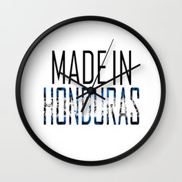 Made In Honduras Wall Clock