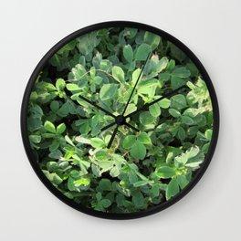 Peaceful Contemplations Wall Clock