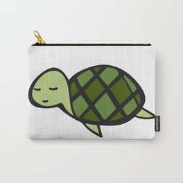 Peaceful Turtle Carry-All Pouch