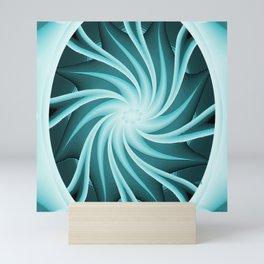Swirling Sea Star.... Mini Art Print