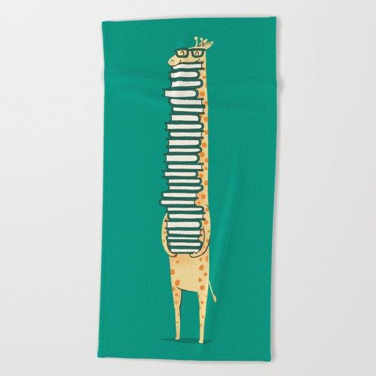 A book lover Beach Towel