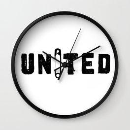 UNITED Wall Clock