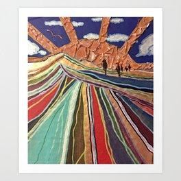 Sunrise Series, Part 4. Art Print