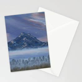 Mountain Peak Stationery Cards