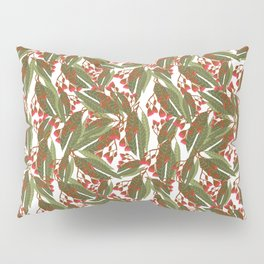 Flowering Gum - White Pillow Sham