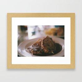 Huber Butchery Framed Art Print