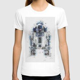 R2-D2, Newspaper Style T-shirt