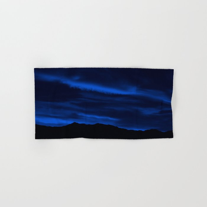 SW Midnight Blue Morning Hand & Bath Towel