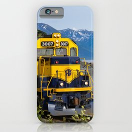 5298 - Alaska Passenger Train iPhone Case