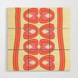 Psi Sixties Wood Wall Art