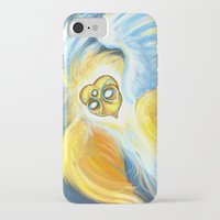 good omens iPhone & iPod Cases featuring Good Omens: Aziraphale (True Form) by Katerina Romanova