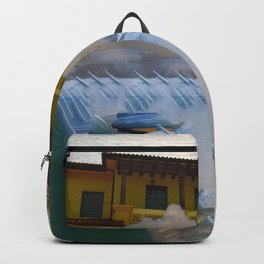 Mysterious Waterfall Backpack