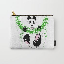 THE PANDA is a symbol of gentleness and strength. it is an auspicious symbol of peace, harmony Carry-All Pouch
