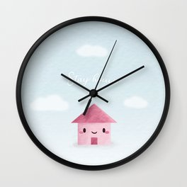 Stay home ! Wall Clock