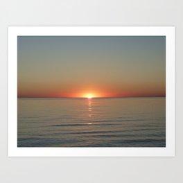 Michigan Sunset 3 Art Print