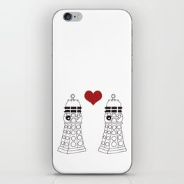 Daleks need love too iPhone Skin