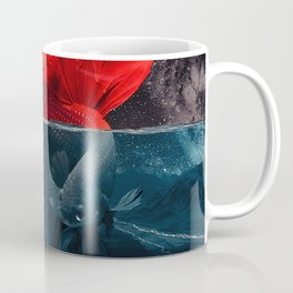 Red Siamese Fighting by GEN Z Coffee Mug