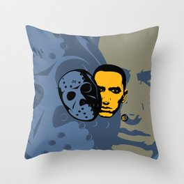Marshall Bruce Mathers III - Poster Throw Pillow