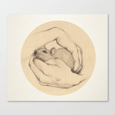 Organic VI Canvas Print