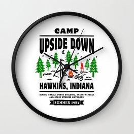 Camp Upside Down T-Shirt Wall Clock
