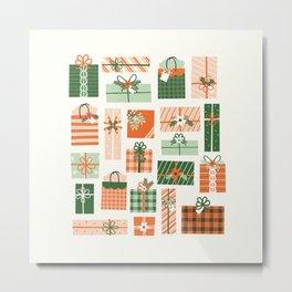 Christmas Presents Metal Print