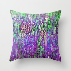 SIZE ME UP -PURPLE Throw Pillow