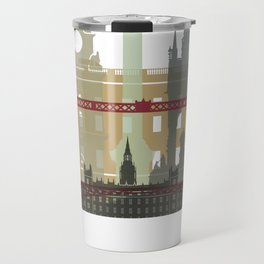 London skyline poster Travel Mug