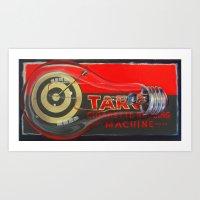 Cigarette Machine Art Print