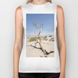 Tree branch Dune Death Valley Biker Tank