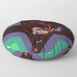 Rock and Roll Star Floor Pillow