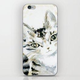 Curiosity Cat iPhone Skin