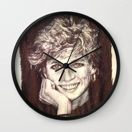 PRINCESS DIANA Wall Clock