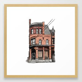 Former Canary Restaurant Framed Art Print