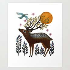 Design by Nature Art Print