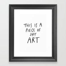 Piece of Art Framed Art Print