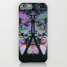 Nature is upset with us iPhone Case